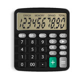 Calculator. Isolated object. White background. Vector Image Stock Images