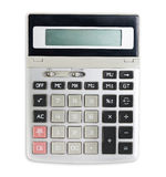 Calculator isolated Royalty Free Stock Photos