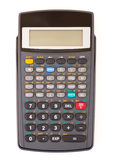Calculator isolated. On white background Royalty Free Stock Image