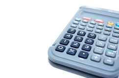 Calculator isolated on white Royalty Free Stock Photography