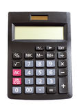 Calculator isolated on white background. With clipping path Stock Images