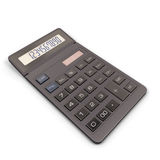 Calculator isolated on white background. Royalty Free Stock Photo