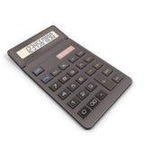 Calculator isolated on white background. Royalty Free Stock Photo
