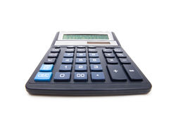 Calculator isolated on white Stock Photography