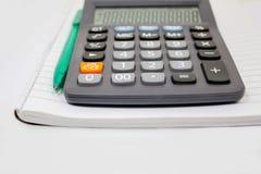 calculator isolated on white background Royalty Free Stock Image