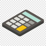 Calculator isometric 3d icon Stock Photos