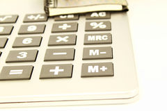 Calculator key closeup Royalty Free Stock Photography