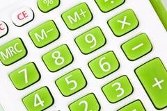Calculator keyboard royalty free stock image