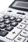 Calculator keyboard detail Stock Photo
