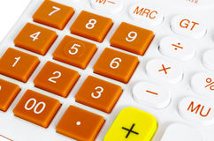 Calculator Keyboard. Stock Photos