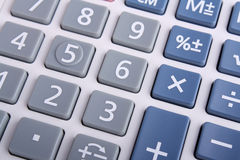 Calculator Keypad Royalty Free Stock Images