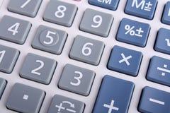 Calculator Keypad. Close up Calculator Keypad on white Royalty Free Stock Images