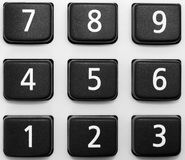 Calculator keypad Stock Photos