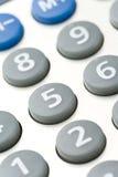 Calculator keypad. Close up shot Stock Photography