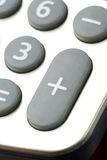 Calculator keypad. Close up shot Stock Photo
