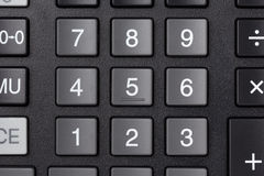 Calculator keypad buttons Stock Photos