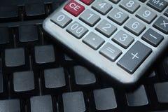 Calculator Keypad Stock Image
