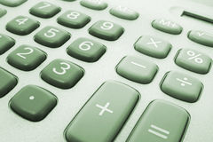 Calculator Keys Royalty Free Stock Photos