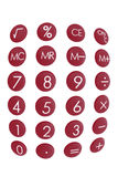 Calculator Keys Royalty Free Stock Photo