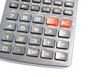 Calculator keys Stock Photos