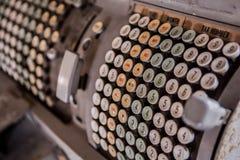 Calculator machine Stock Image