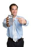 Calculator Man Royalty Free Stock Image