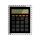 Calculator math device Royalty Free Stock Photography