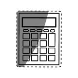 Calculator math device Stock Photography