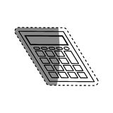 Calculator math device Stock Images