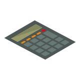 Calculator math device Royalty Free Stock Photo