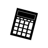 Calculator math device Royalty Free Stock Images