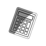 Calculator math device Royalty Free Stock Photos
