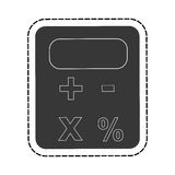 Calculator math gadget Stock Images