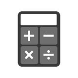 Calculator math  icon Stock Photos