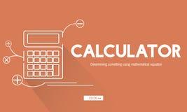Calculator Mathematics Accounting Financial Equipment Concept Royalty Free Stock Photos