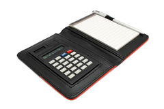 Calculator Memo Pad Stock Photography