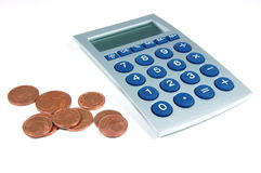 Calculator and Money Stock Images