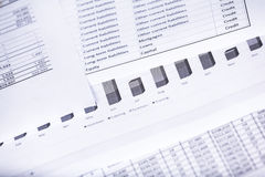 Calculator money statistics papers pen business concept Royalty Free Stock Photo