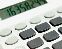 Calculator with no numbers Stock Photos
