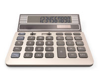 Calculator with number on display Royalty Free Stock Photography