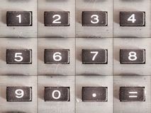 Calculator Numbers Stock Images