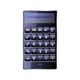 Calculator op witte achtergrond Stock Foto