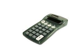 Calculator op witte diagonaal Stock Afbeeldingen