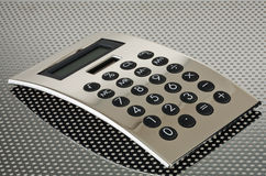 Calculator over Money Royalty Free Stock Image