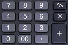 Calculator Pad Stock Image
