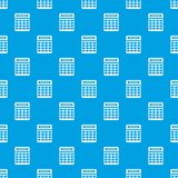 Calculator pattern seamless blue. Calculator pattern repeat seamless in blue color for any design. Vector geometric illustration Stock Photo