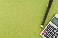 Calculator pen Stock Image