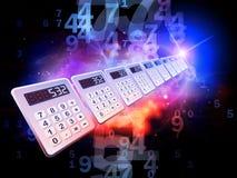 Calculator Perspective Stock Photos
