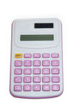Calculator pink Stock Image