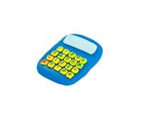 Calculator plasticine Stock Photo